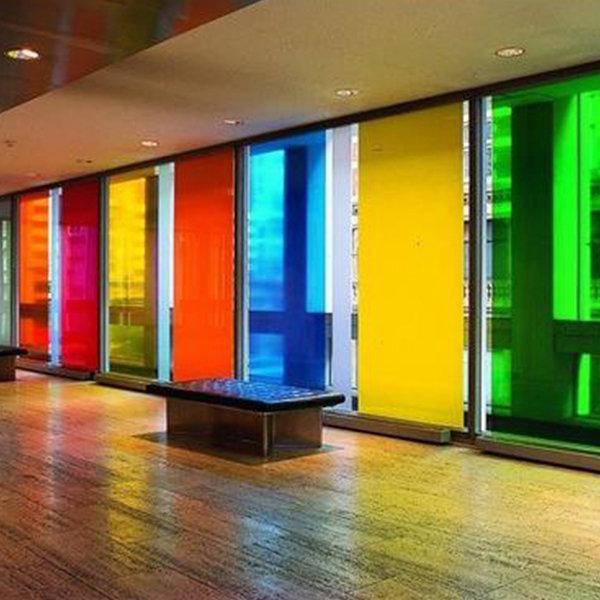 انواع شیشه رنگی