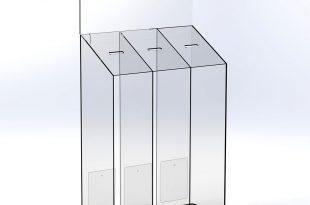 فروش صندوق شیشه ای