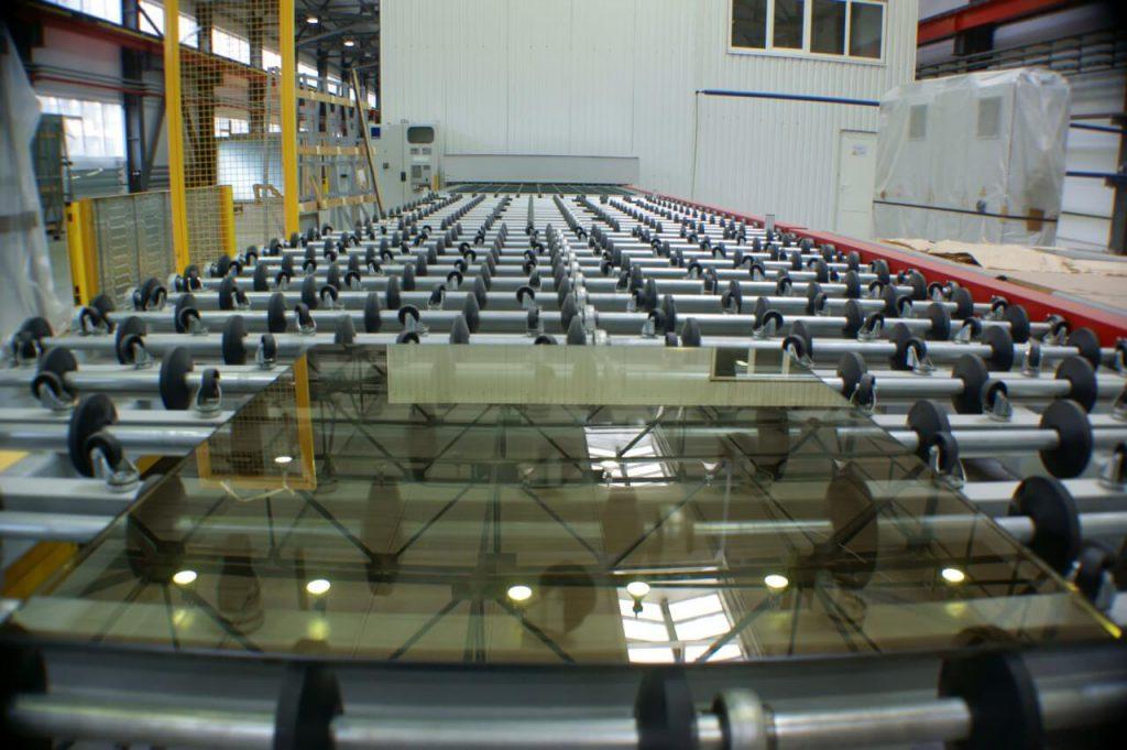 فرآیند تولید شیشه  رفلکس