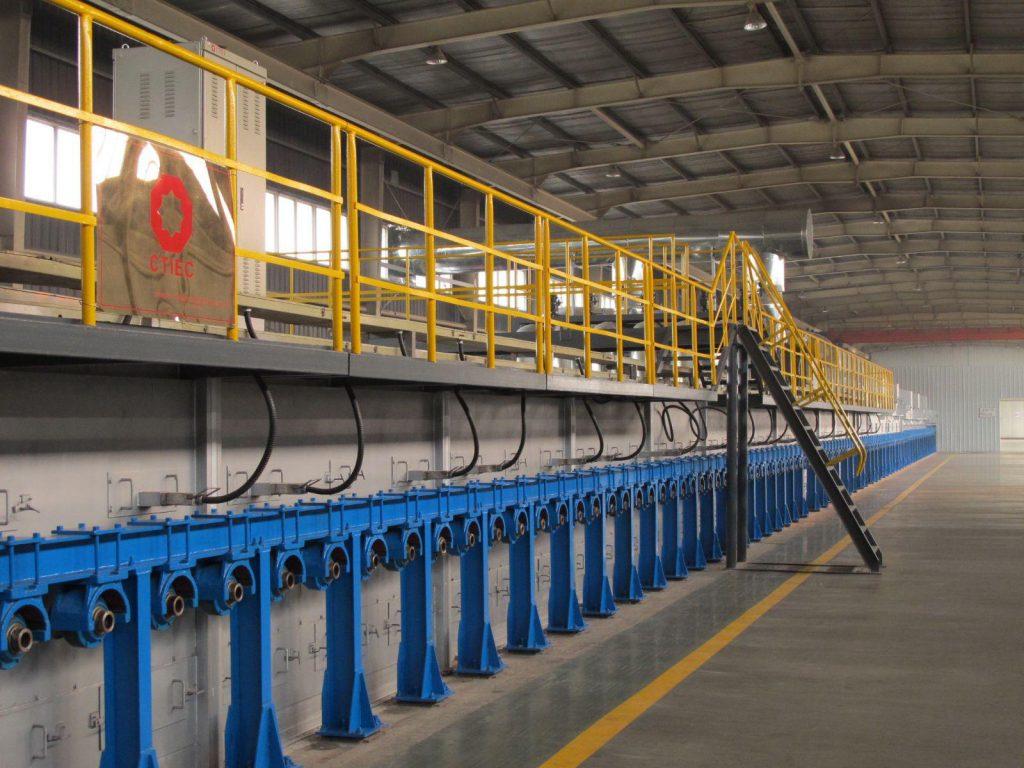 فرآیند تولید شیشه تخت یا مسطح