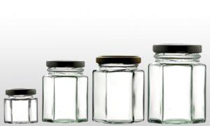 خرید ظروف شیشه ای بسته بندی عسل