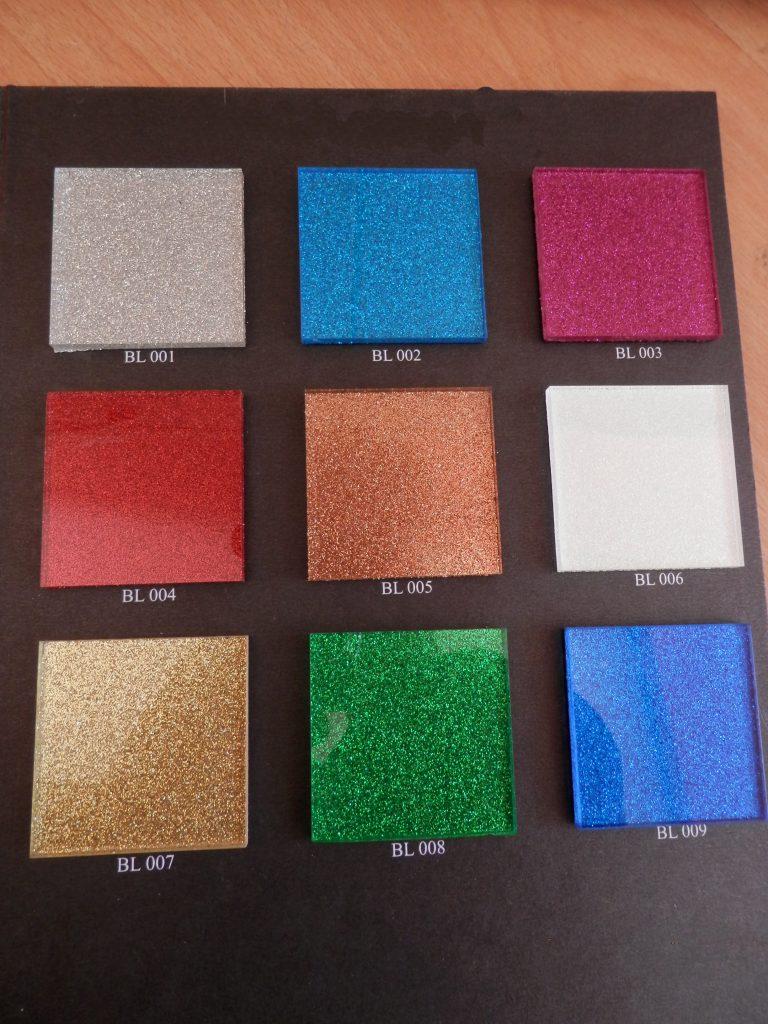 تولید شیشه رنگی