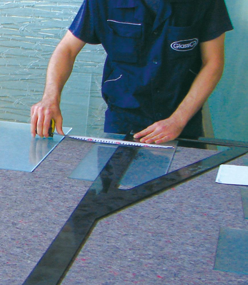 ابعاد استاندارد شیشه تخت