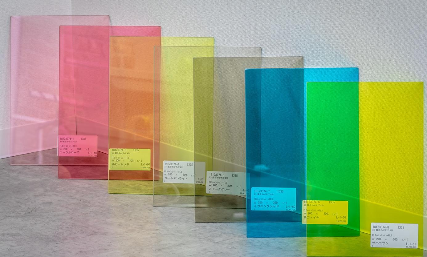 انواع محصولات شیشه لمینت