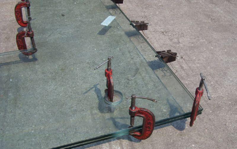 روش تولید شیشه چند لایه رزینی (لمینت)